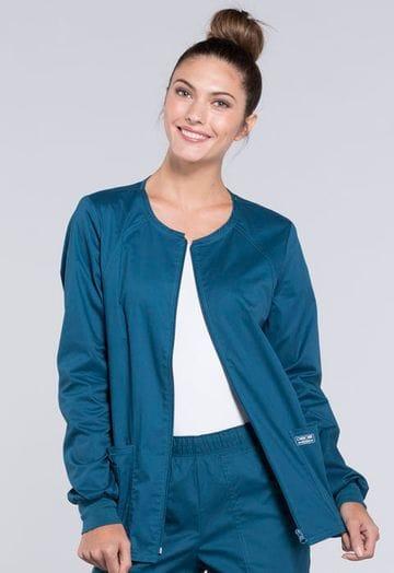 4315 Caribbean Womens Warm-Up Jacket