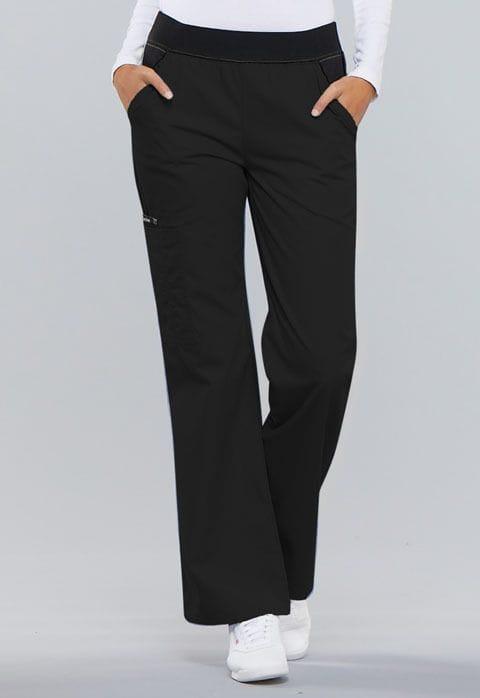.1031 Womens Black Pull-On Pant