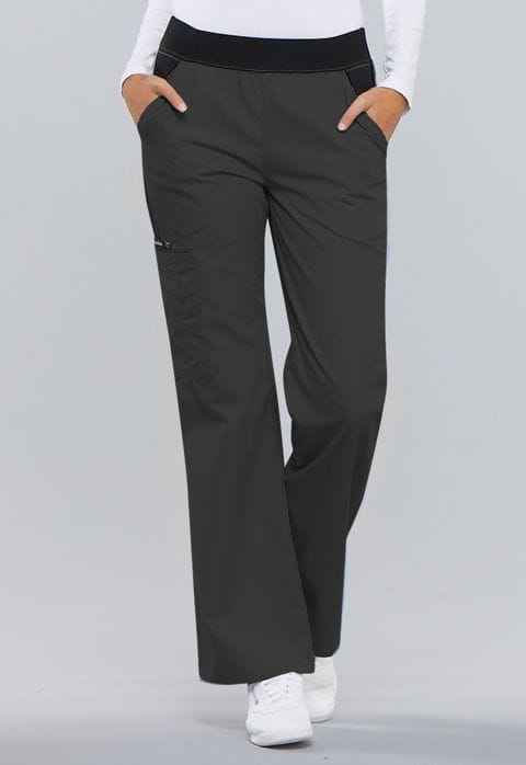 .1031 Womens Pewter Pull-On Pant