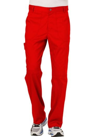 ..WW140 Red Mens Fly Front Pant
