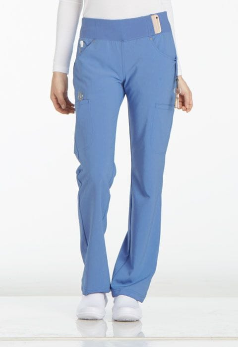 ..CK002T TALL iFlex Mid Rise Straight Leg Pull-on Pant - 15 Colours