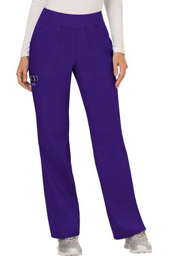 ...WW110 Grape mid rise Pull on Pant