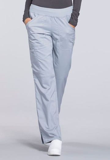 ...WW110 Grey mid rise Pull on Pant