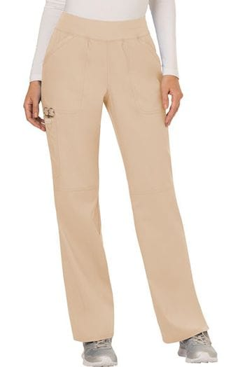 ...WW110 Khaki mid rise Pull on Pant