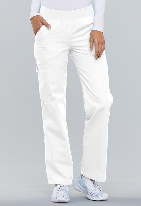 ..2085  White Flexibles Pull-On Pant