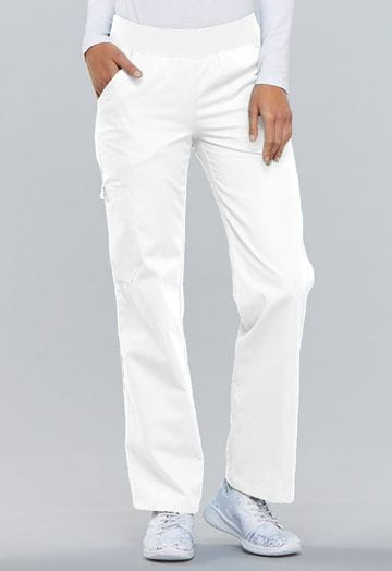 ..2085  White Flexibles Pull-On Pant