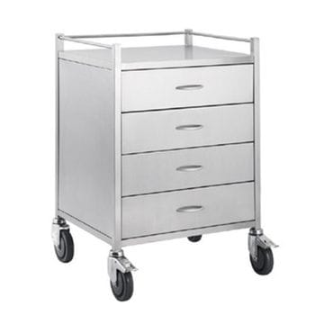 Four Drawer Trolley TF001