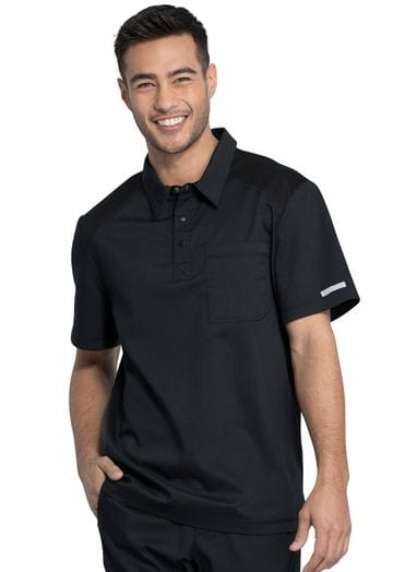 *WW615 Men's Polo Shirt in Black