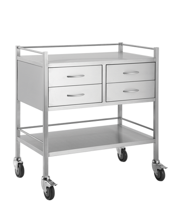 Four Drawer Trolley Side by Side