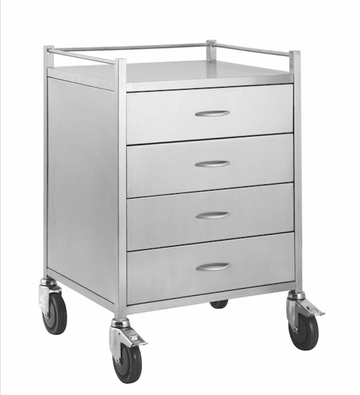 Four Drawer Trolley TF002