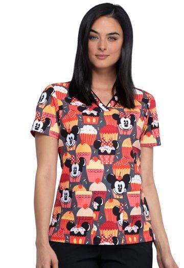 *TF610 MKUT Cute as a Cupcake V-neck Top