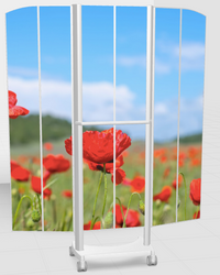 Silentia Privacy Screens, mobile and wall mounted