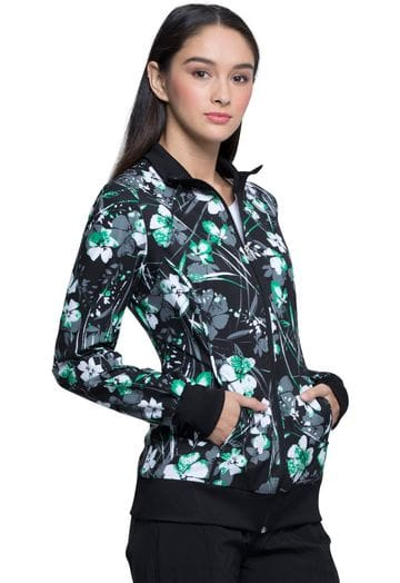 *CK372 Infinity Warm up Jacket in Botanical Gestures