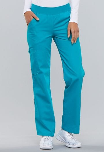 ..2085 Teal Flexibles Pull on Pant