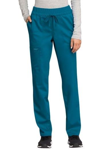 *WW105 Mid Rise Tapered Leg Drawstring Pant - 12 Colours