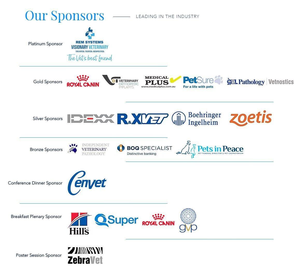 VSS Sponsor Logos | Veterinary Specialist Services | Premier Veterinary Conference