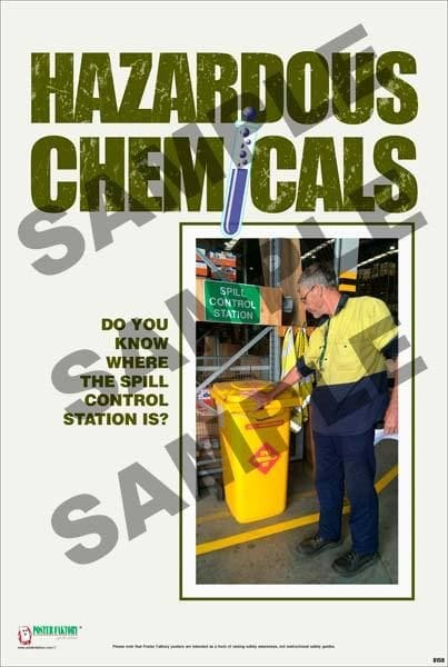 Chemical Safety Posters