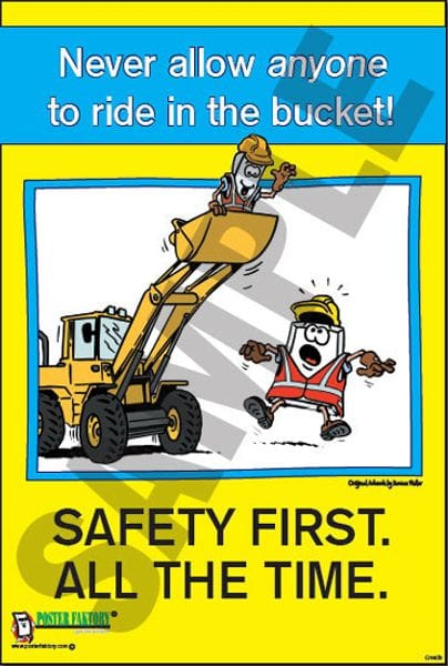 Civil Work Safety Posters