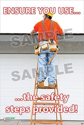 Ladder Safety Posters