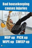 Housekeeping Safety Posters