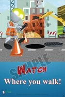 Slips, Trips & Falls Safety Posters