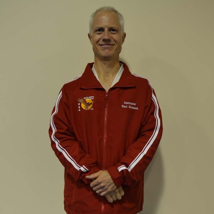 Paul Evensen 5th Dan Martial Arts Instructor