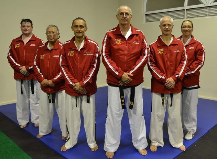 South Perth Taekwon-Do Martial Arts Instructors