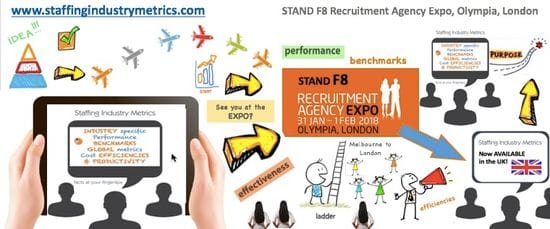 Come and see us at the Recruitment Agency Expo, Olympia, London. 31st Jan and 1st Feb.
