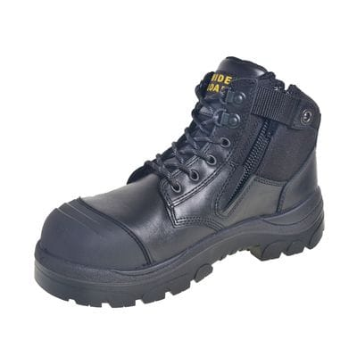 Wide Load Work Boots | 690BZN Work Boot | Steel Cap Boot | Safety Boots