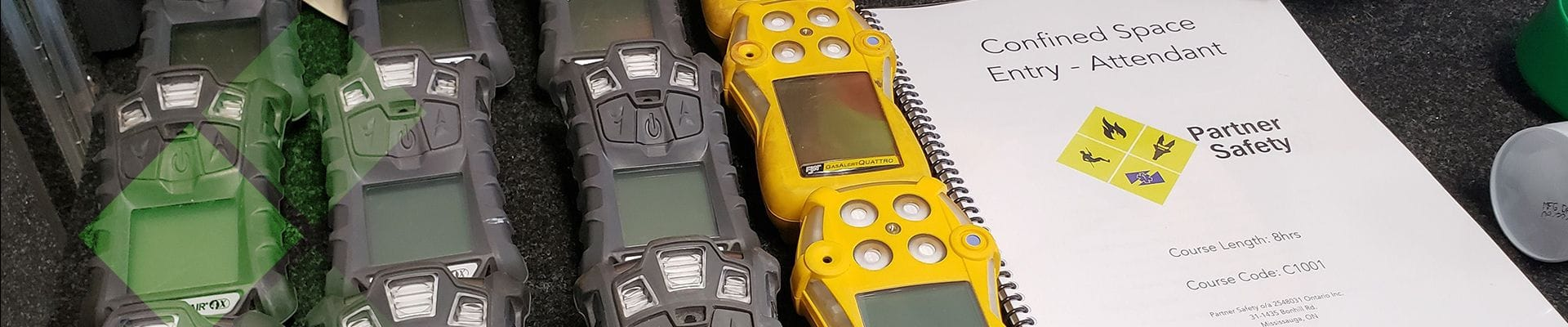 gas detectors and self contained breathing aparatus training