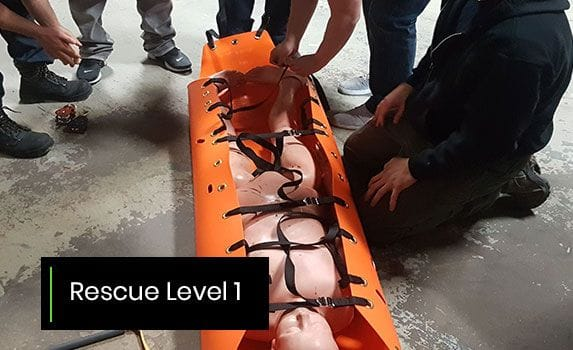 Confined Space Training - Rescue Level 1