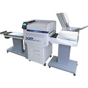 OKI CMYK + White Digital Printer