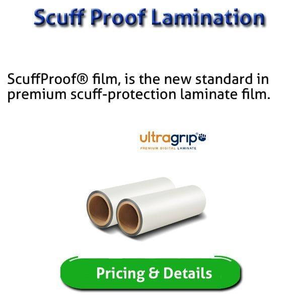 Scuff Proof Luxe Ultragrip Lamination