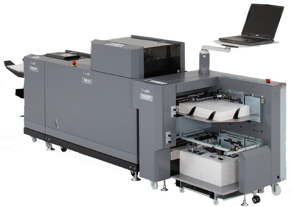 DUPLO 150 DIGITAL BOOKLET SYSTEM