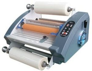 "Royal Sovereign RSH 380SL 15"" Table Top Hot Roll Laminator"
