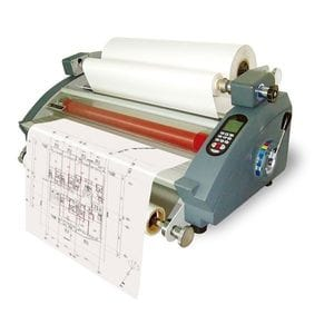 "Royal Sovereign RSL 2702S 27"" Table Top Hot & Cold Roll Laminator with Decurl Bar"
