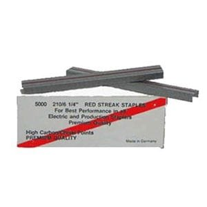 "Staples - 1/4"" Red Streak"