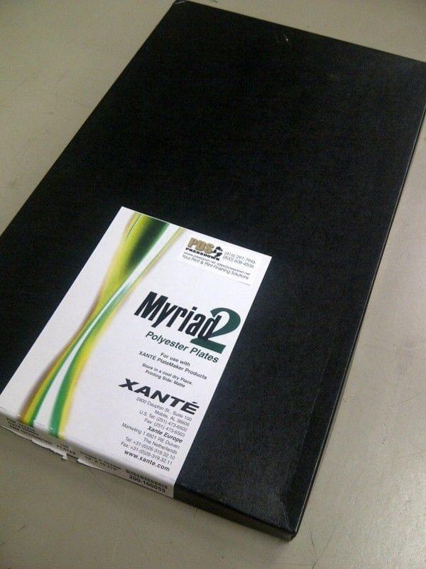 Xante Myriad 2 - Laser Poly Plates