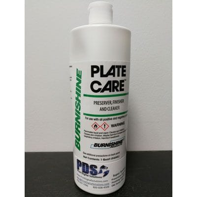 PLATE CARE