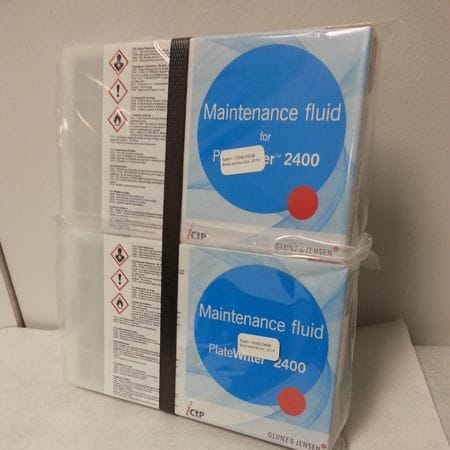 PlateWriter 2400 - Maintance Fluid 3 & 4