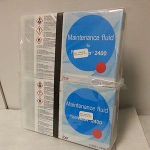 PlateWriter 2400 - Maintance Fluid 3 & 4