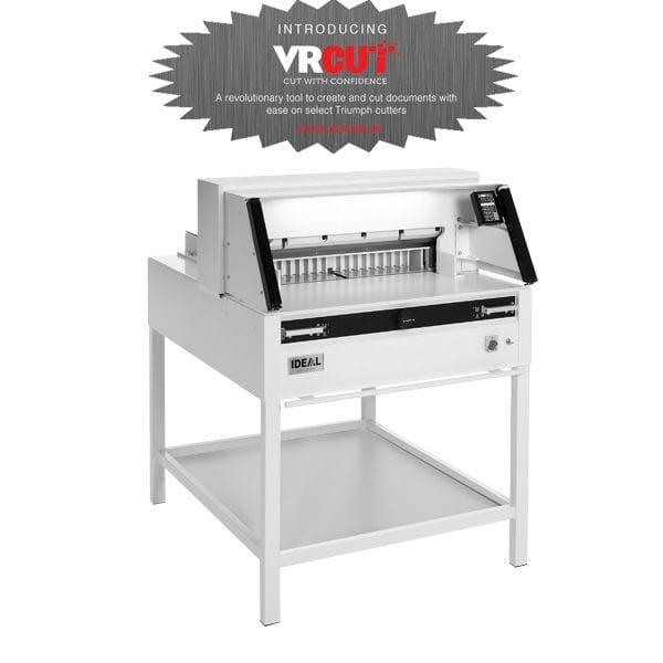"""Triumph 5260 With VRCUT 20 3/8"""" AUTOMATIC Paper Cutter"""