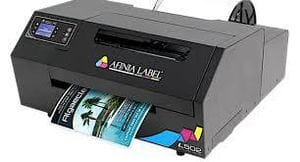 Afinia L502 Industrial Duo Ink Color Label Printer