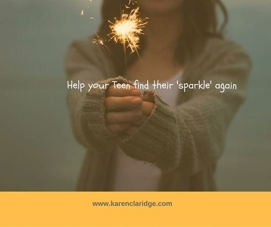 6 WAYS YOU CAN HELP YOUR TEEN FIND THEIR SPARKLE AGAIN!