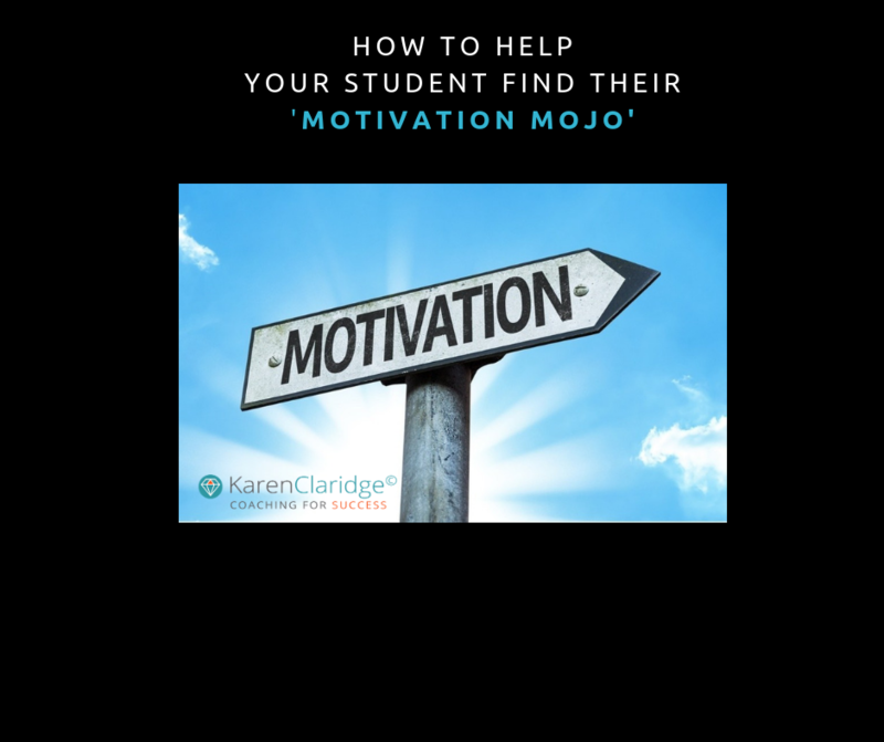 ONE GREAT WAY TO HELP YOUR TEEN FIND THEIR 'MOTIVATION MOJO'!
