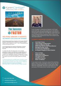 Success Factor for Exams | Karen Claridge | Coaching for Success