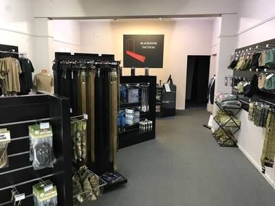 Blackdoor Tactical showroom