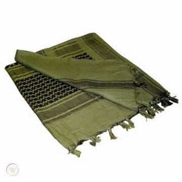 Shemagh (Olive/Black)