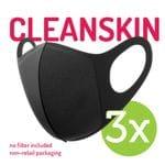 Suregard   CLEAN SKIN Unvalved Reusable Personal Protective Mask (3 Packs)