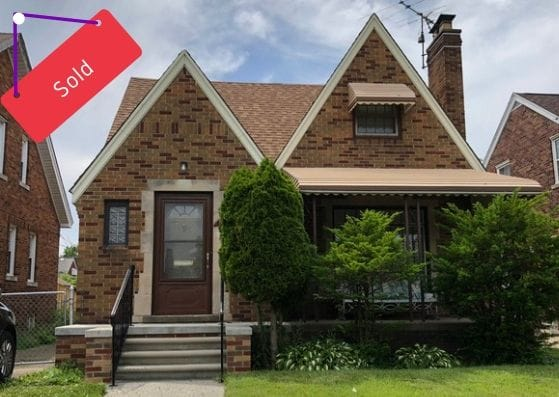 17159 Albion St, Detroit | Can I Invest | cash positive investments | positive cash flow investments | why invest in detroit